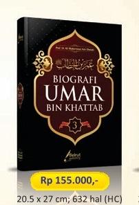 Biografi Umar bin Khattab - Prof. Dr. Muhammad Ash Shallabi - Penerbit Beirut Publishing