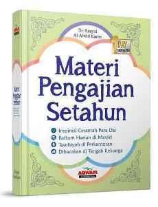 Buku Kumpulan Materi Pengajian Ceramah Kultum SEtahun Penerbit Aqwam