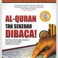 Al Quran Tak Sekedar Dibaca - Dr. Khalid ABdul Karim - Penerbit Zamzam