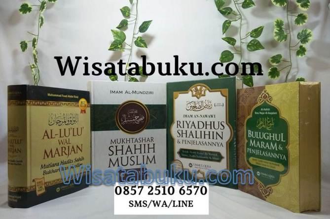 Jual Buku AL Lulu Wal Marjan - Mukhtashar Shahih Muslim - Riyadhus Shalihin dan Penjelasannya - Bulughul Maram
