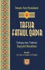 Kitab Tafsir Fathul Qadir Bahasa Indonesia - Jilid 4
