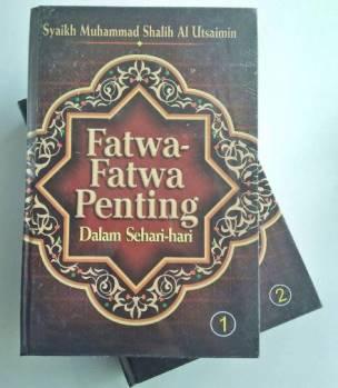 Jual Buku islami Buku Fatwa Fatwa Penting Dalam Sehari Hari - Syaikh Muhammad Shalih Al Utsaimin - Pustaka As Sunnah